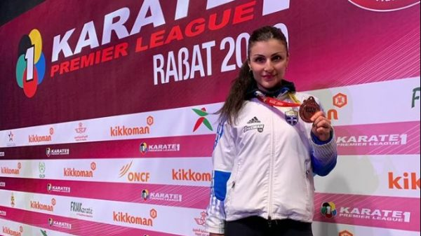 Τρίτη θέση και μετάλλιο για Πανετσίδου στο Μαρόκο