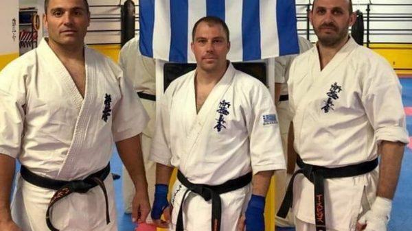 Η ελληνική ομάδα για το Πανευρωπαϊκό Shinkyokushinkai
