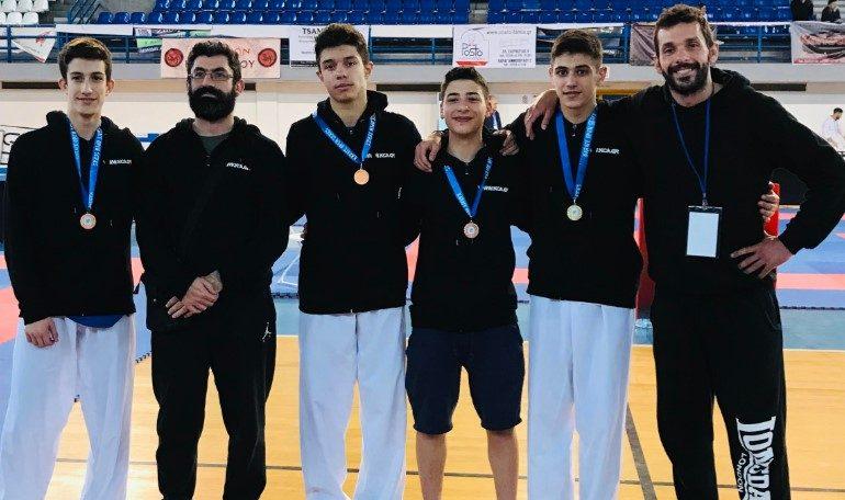 Αθλητικός Σύλλογος Καράτε Αμαρουσίου «Ο Δρόμος της Ειρήνης»: Οκτώ μετάλλια στο Open Series