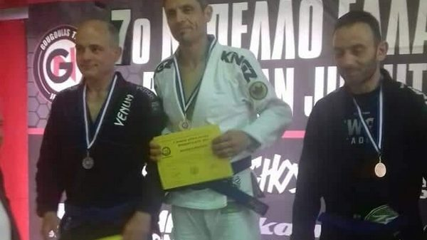 Martial Arts Academy: «Χρυσός» ο Ζήσης