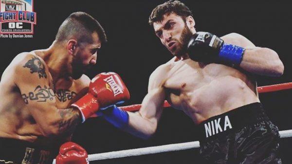 Νίκη για Sekhniashvili με νοκ άουτ