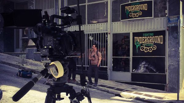 Underground Fighting Texanou Team: Όλη η σχολή συμμετέχει σε γυρίσματα ταινίας