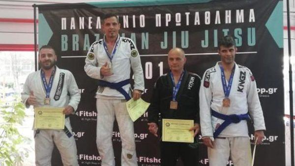 Martial Arts Academy: Μετάλλια για Ζήση, Τσίκληρα, Παππά