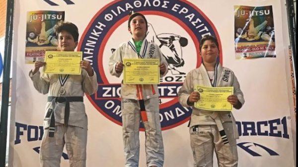 Grind: Δυναμική παρουσία στο Πανελλήνιο πρωτάθλημα Jiu Jitsu