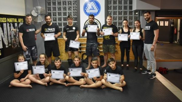 Ultimate Training Academy: Με επιτυχία το σεμινάριο και οι εξετάσεις ζωνών από τον Σώζο