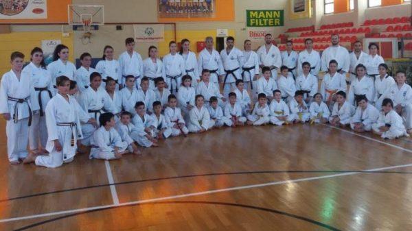 Ο Sensei Shinji Kohata στην Ελλάδα, η απονομή του Ελληνικού Branch Karate Wado Kai -Gi Yu Jin