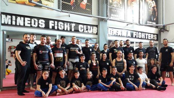 Μαχητές Δράμας: Με  επιτυχία το σεμινάριο του Χιουτάκου