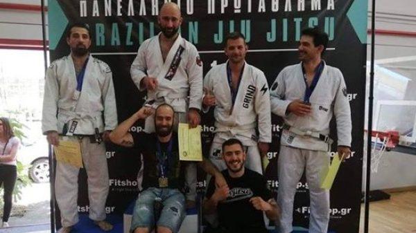 Χρυσό μετάλλιο στο Βrazilian Jiu Jitsu ο Ναζαρένκο