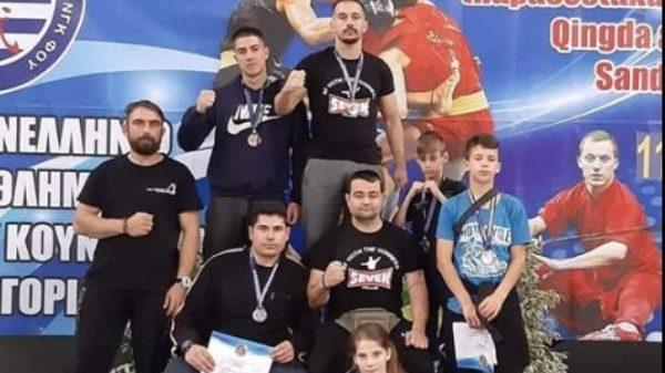 «Χρυσός Δράκος»: Με επιτυχίες στο Πανελλήνιο πρωτάθλημα Wushu Kung Fu
