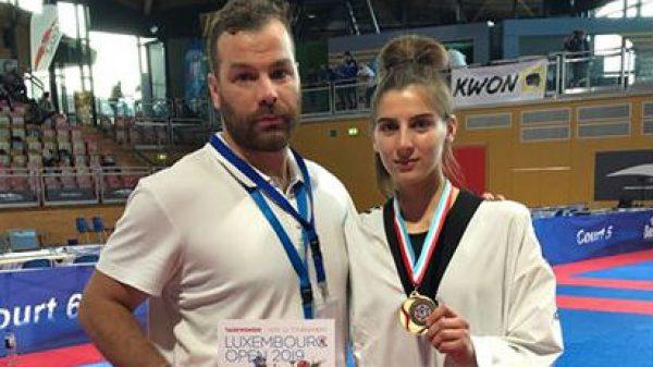Το χάλκινο μετάλλιο στο Λουξεμβούργο κατέκτησε η Καλτέκη Φαίδρα του Α.Σ. ΔΙΑΣ ΛΑΡΙΣΑΣ