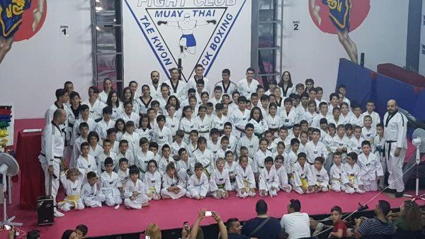 Athlos Fight Club: Εξετάσεις ζωνών στη σχολή του Κιλκίς