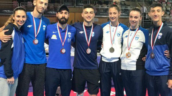 «Σάρωσε» τα μετάλλια η προολυμπιακή ομάδα στο G1 τουρνουά του Λουξεμβούργου