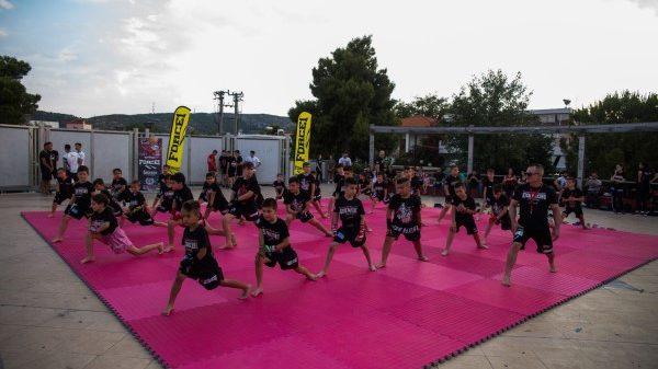 BG Academy: Επίδειξη στην Πλατεία Ηρώων