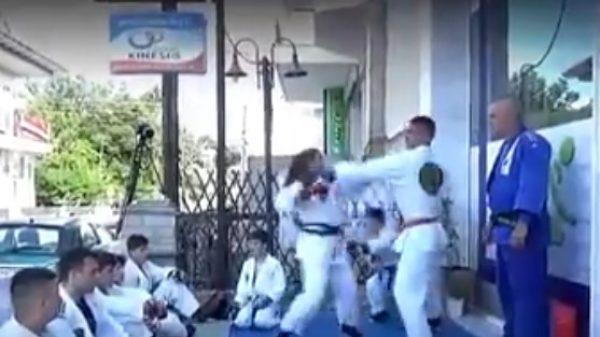 Combat Ju Jitsu: Νέα επίδειξη στα εγκαίνια του Kinesiotherapy
