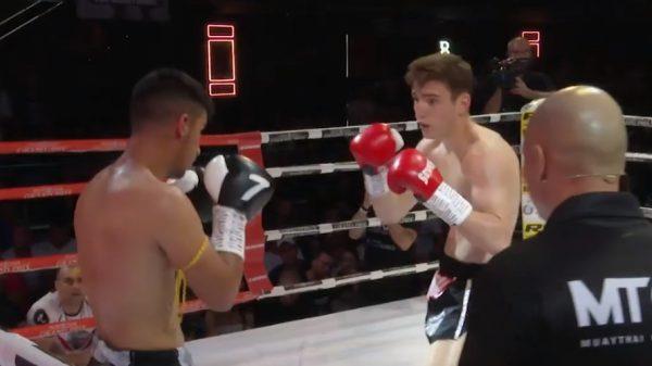 Δείτε την μάχη του Σαμπροβαλάκη με τον Ευγενίου στο Muay Thai Grand Prix