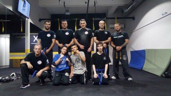 Εξετάσεις ζωνών στο Καρλόβασι για το Combat Hapkido