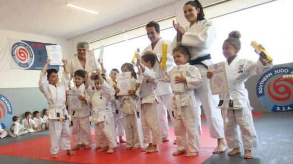 Southern Judo Academy: Εξετάσεις έγχρωμων ζωνών
