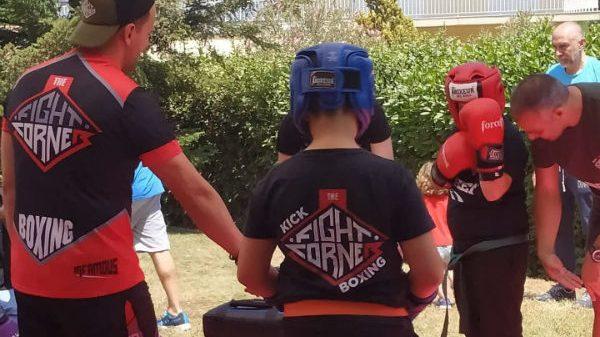 The Fight Corner: Δυναμικές προπονήσεις και επιδείξεις