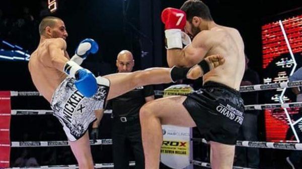 Η μάχη του Τσίγκου με τον Γραντζίδη για την ζώνη του Muay Thai Grand Prix(ΒΙΝΤΕΟ)