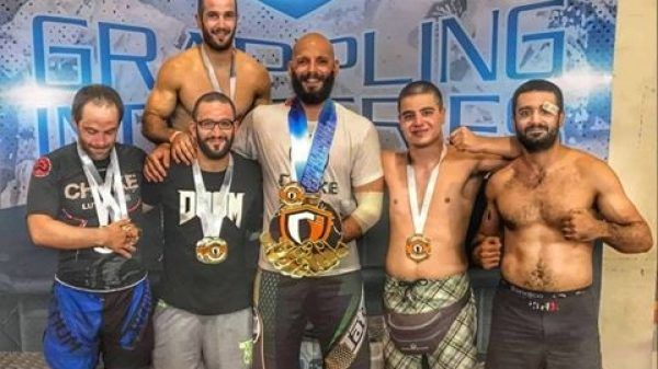 Choke Luta Livre Team: Πρώτη θέση στο Ευρωπαϊκό Open του Grappling Industries της Ρώμης