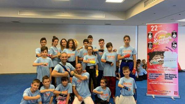 Gerontis Fighters: Στο camp του Michalakopoulos team