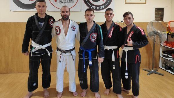 Kinesis Fight Club: Έγχρωμες ζώνες για το Kinesis στο Brazilian Jiu Jitsu