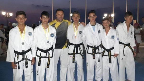 Ο Ευκλέας Λευκάδας με συμμετοχή στο πρώτο Summer Ταεκβοντο training Sessions
