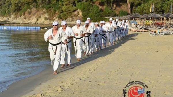 22ο Διεθνές Summer Camp του Ελληνικού Shinkyokushinkai στη Σκιάθο