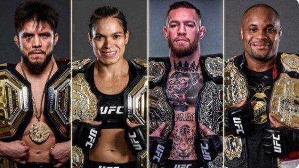 Τέσσερις αθλητές που κράτησαν δύο ζώνες στο UFC