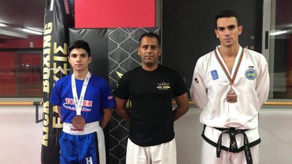 Α.Σ ΕΛΕΥΣΙΣ: Επιτυχίες σε kickboxing και taekwondo